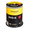 DKR 139,06 - DVD-R 4,7 GB Intenso 16x Speed i cakebox 100 Stk